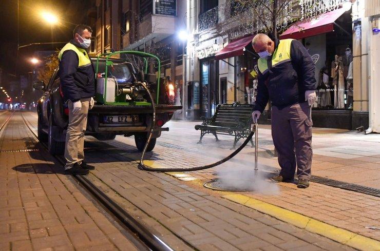Tepebaşı Belediyesi haşereyle mücadele çalışmalarına başladı