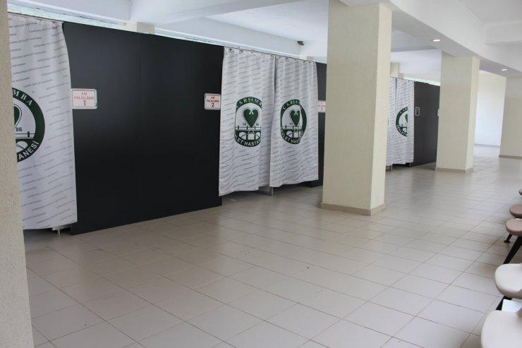 Çarşamba Devlet Hastanesi'nde aşı düzenlemesi