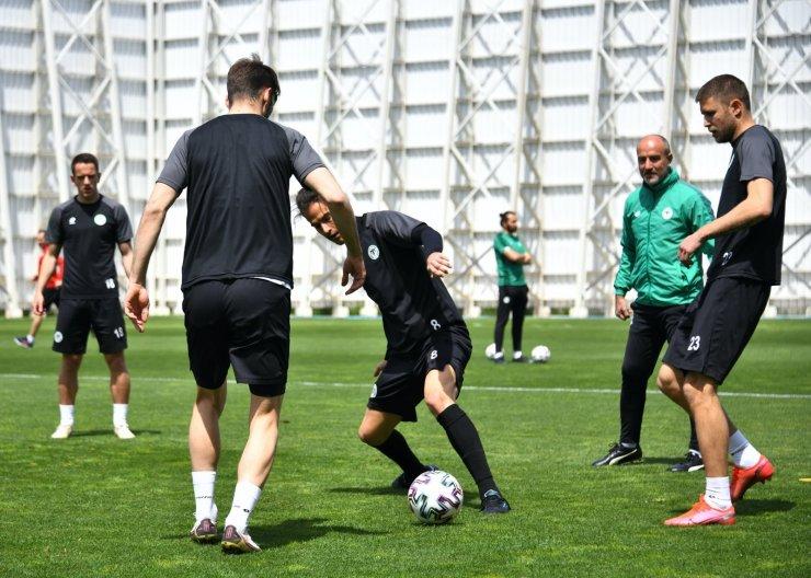 Konyaspor, Hatayspor maçı hazırlıklarını tamamladı