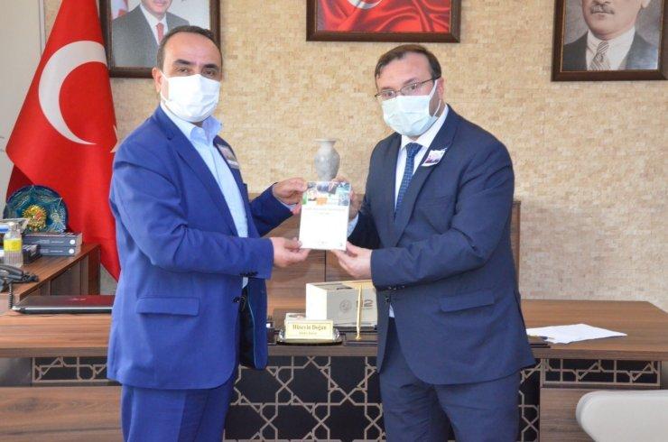 Bakan Yardımcısı Akif Özkaldı'dan Emet Belediyesi'ne ziyaret