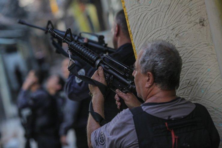 Brezilya'daki çatışmada ölü sayısı 25'e yükseldi