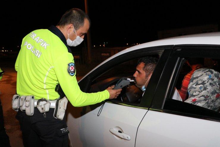 Amasya'da polis denetimlerini artırdı