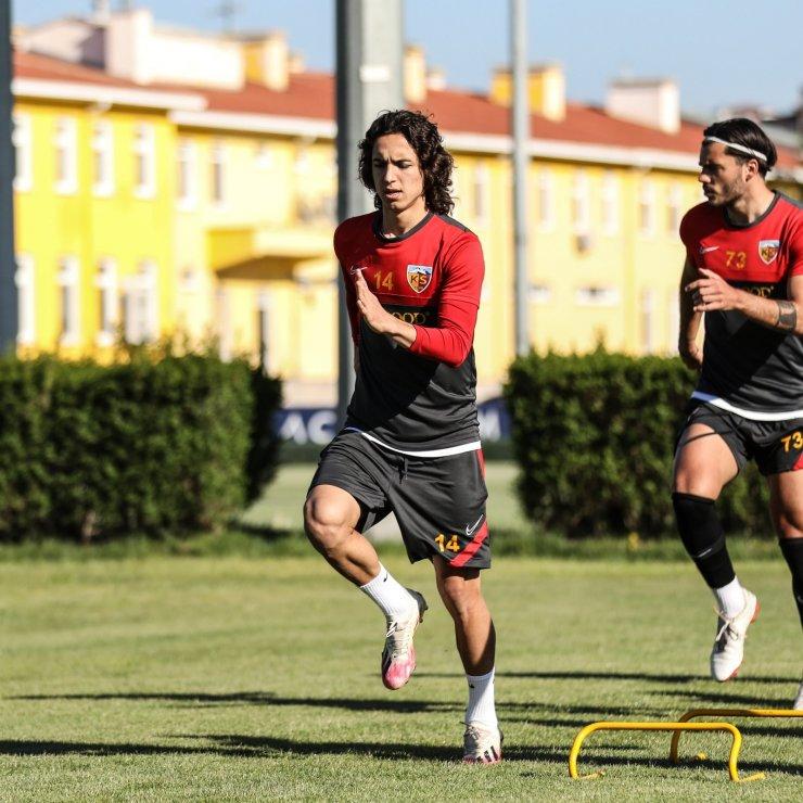 Kayserispor, Gaziantep FK maçı hazırlıklarını tamamladı