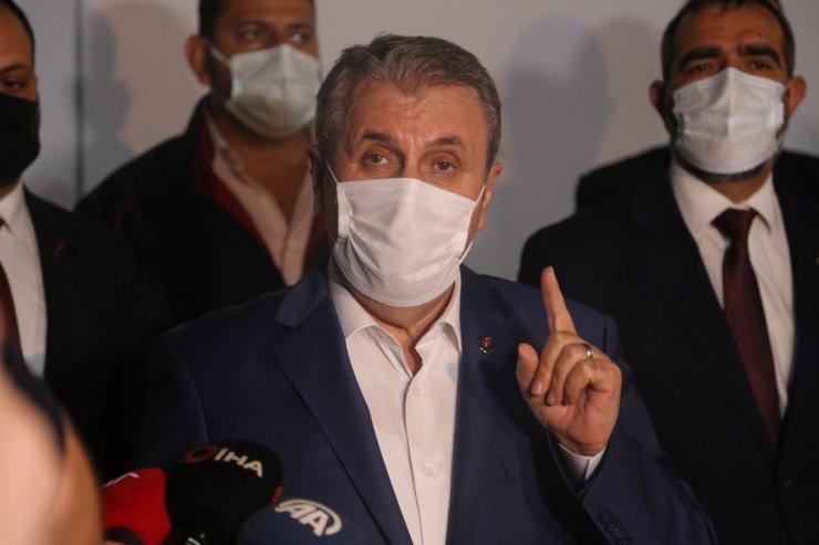 BBP Genel Başkanı Mustafa Destici İsrail'i kınadı