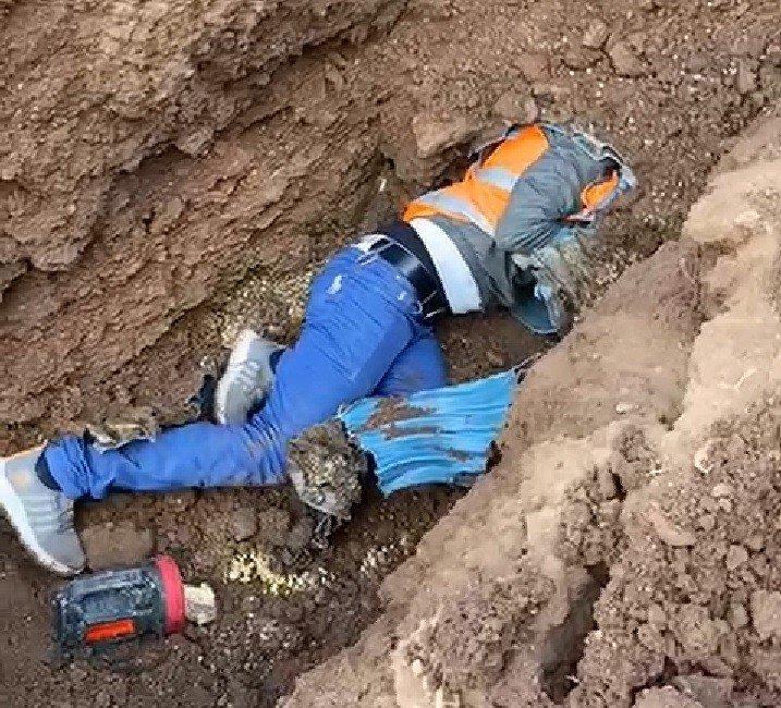 Bingöl'de kuzu menfeze girdi, itfaiye ekipleri kurtardı
