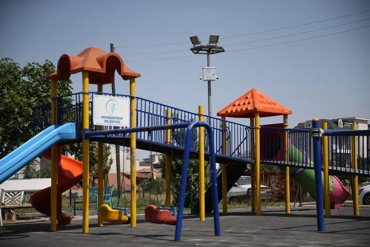Güvenlik kamerası takılan parkların sayısı artıyor