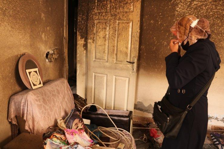 Şanlıurfa'da kanser hastası kadının evi kundaklandı