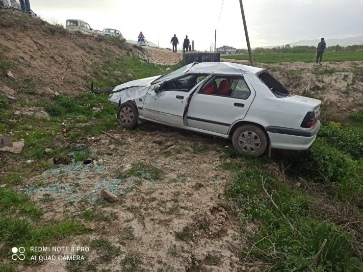 Erciş'te trafik kazası: 4 yaralı