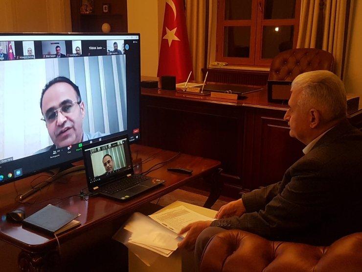 """AK Parti Genel Başkanvekili Binali Yıldırım:""""Dünya'nın bu barbarlığa, kalleşliğe ve katliama en sert şekilde karşılık vermesi gerekir"""""""