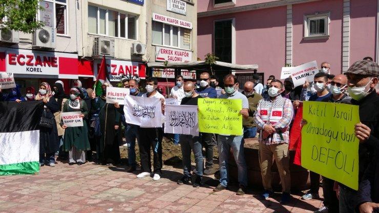 İsrail'in Mescid-i Aksa saldırılarına Ereğli'den tepki
