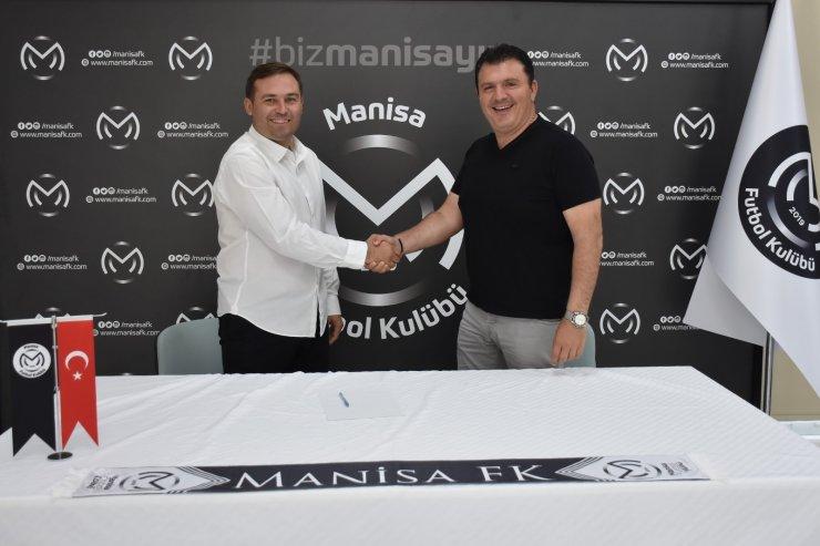 Manisa FK'nın yeni sportif direktörü Serkan İşyapan oldu
