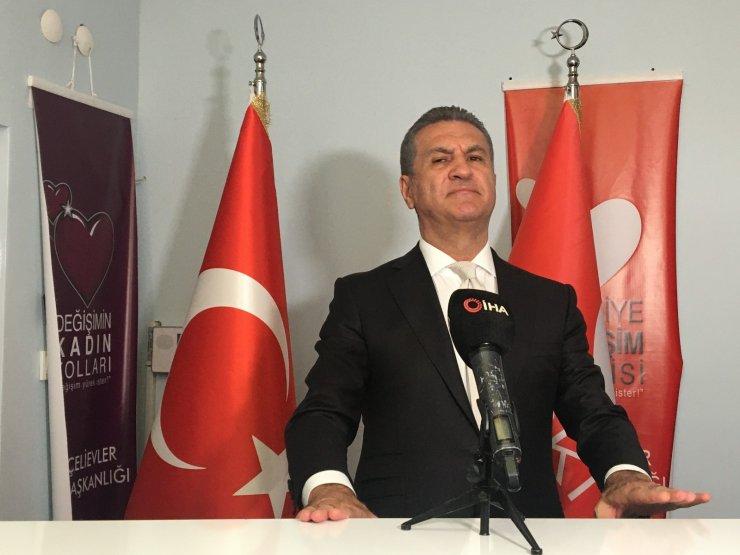 Türkiye Değişim Partisi Genel Başkanı Mustafa Sarıgül, İsrail'in saldırılarına tepki gösterdi