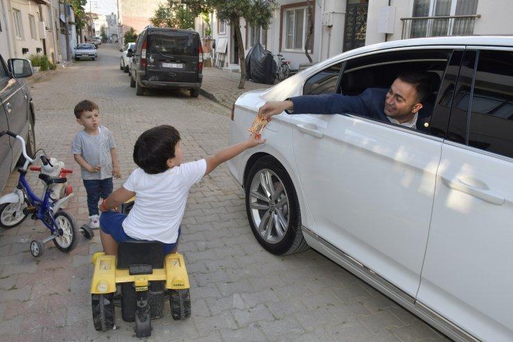 Başkan Erdoğan bayram sevincini vatandaşlarla paylaştı