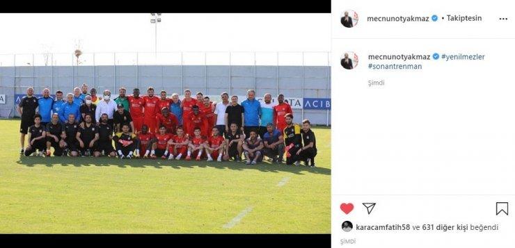 """Sivasspor Başkanı Otyakmaz'dan """"yenilmezler"""" paylaşımı"""