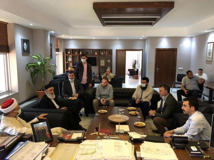 Diyanet İşleri Başkanı Erbaş, Çilimli'de bayramlaştı