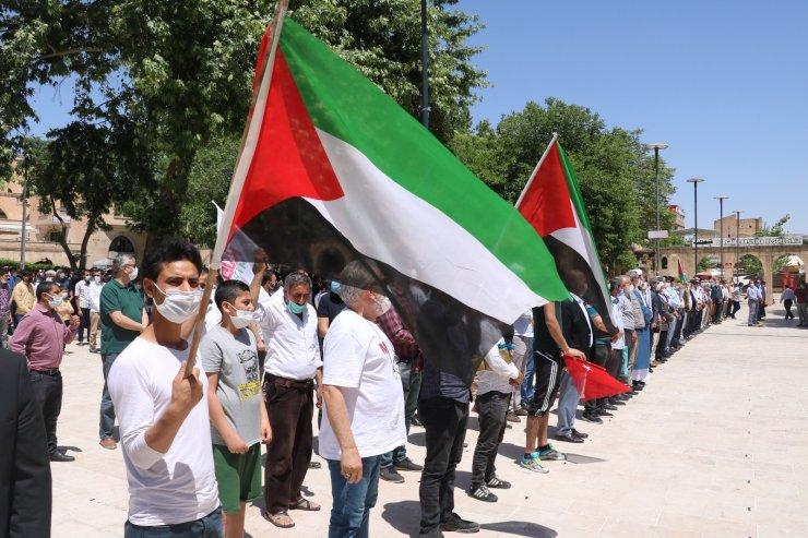 Gazze ve Kudüs şehitleri için Şanlıurfa'da gıyabi cenaze namazı kılındı