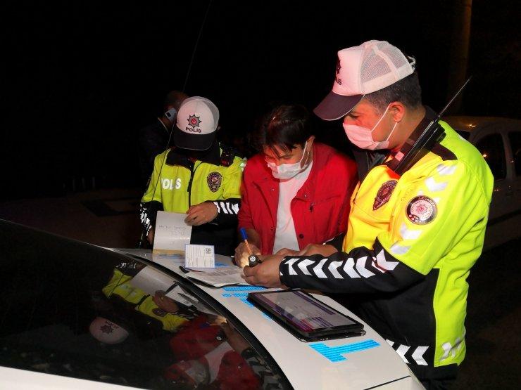 'Dur' ihtarına uymayıp kaçan alkollü sürücü 2. noktada yakalandı