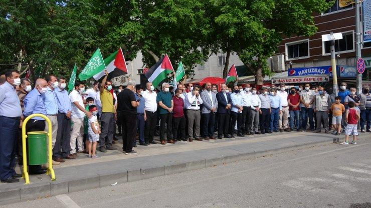 Filistin için Adıyaman'da dualar edildi