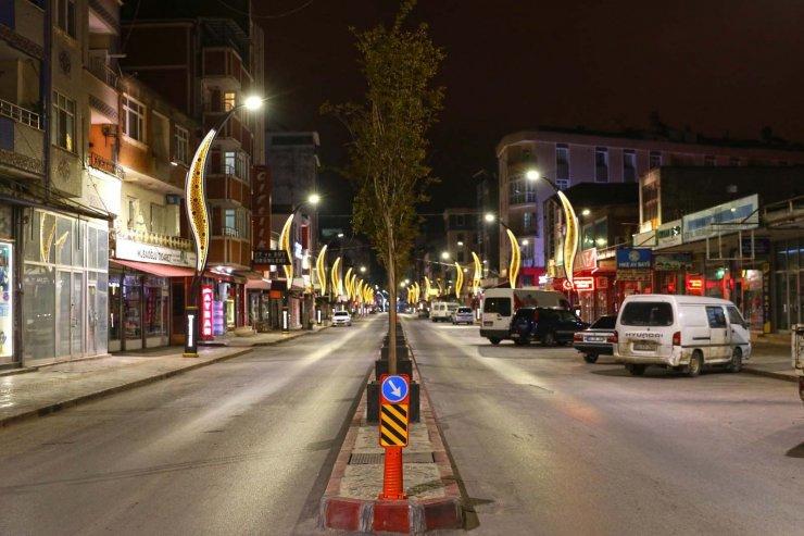 Alaçam Caddesi görsel dokunuşla ışıl ışıl