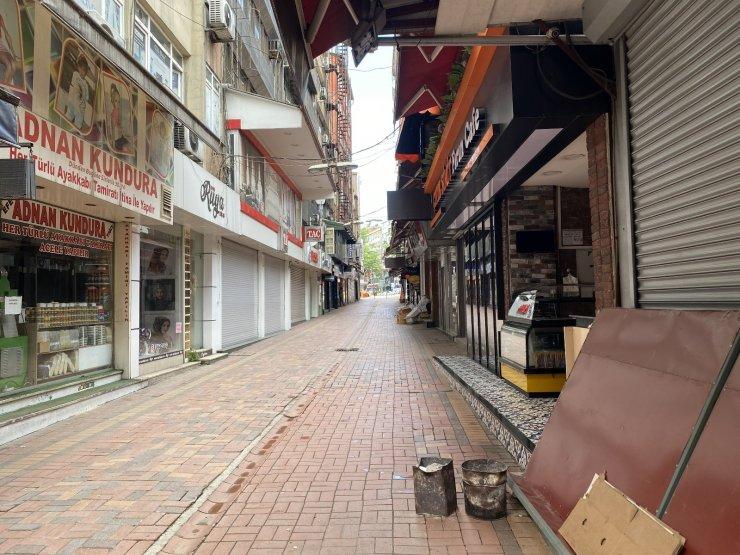 Zonguldak'ta tam kapanmanın son gününde sessizlik hakim
