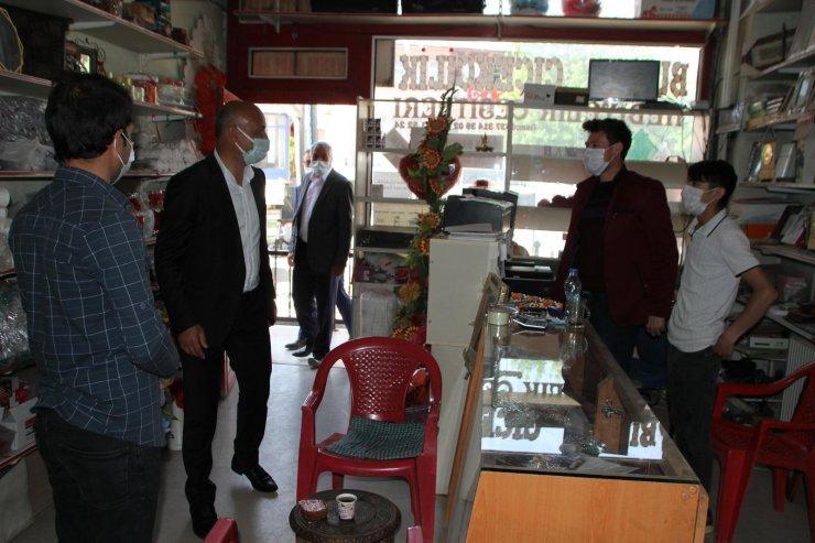 Malazgirt Belediye Başkanı Altın'dan esnaf ziyareti