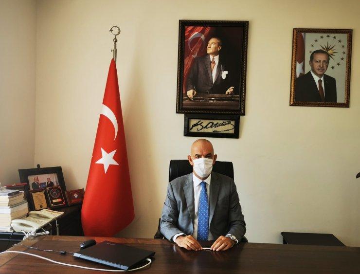 """Marmaris Kaymakamı Aksoy'un """"19 Mayıs Atatürk'ü Anma, Gençlik ve Spor Bayramı '' mesajı"""