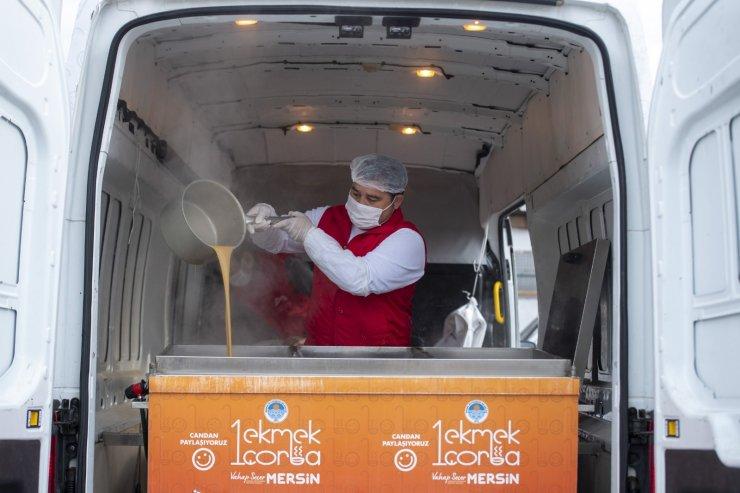 '1 Ekmek 1 Çorba' 200 binin üzerinde vatandaşa ulaştı