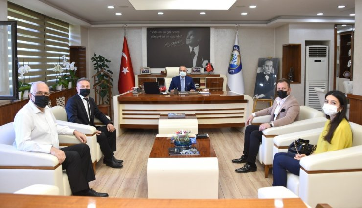 Manisa Büyükşehir Belediyesinden Salihli'nin projelerine inceleme