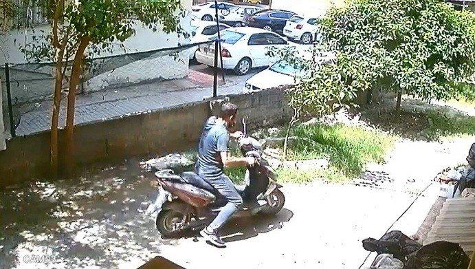 Suçüstü yakalanan hırsız tutuklandı