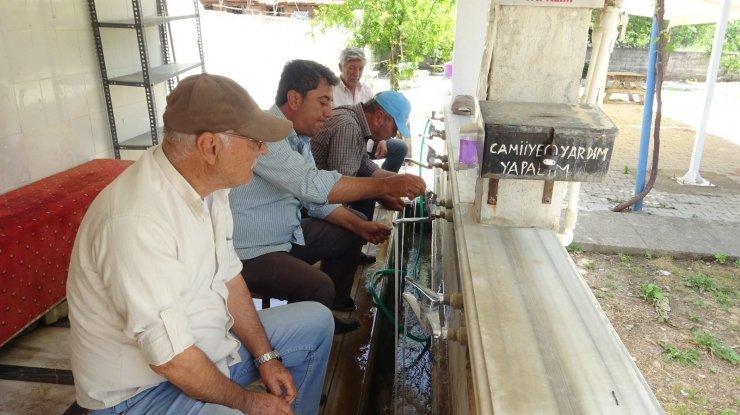 Bu mahallenin suyu şeker hastalarına şifa dağıtıyor