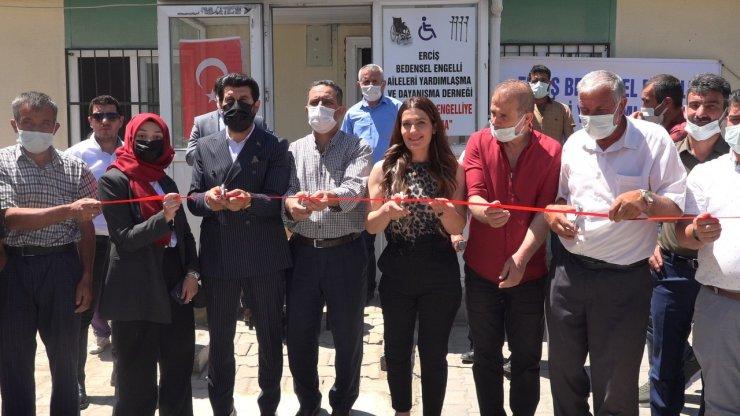 Erciş Bedensel Engelli Aileleri Yardımlaşma ve Dayanışma Derneği hizmete başladı