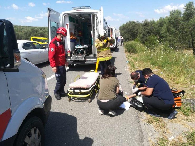 Havran'da kaza: 4 yaralı
