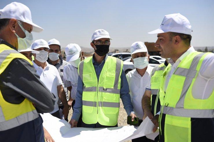 DSİ Genel Müdürü Yıldız, Batman ve Diyarbakır'da incelemelerde bulundu