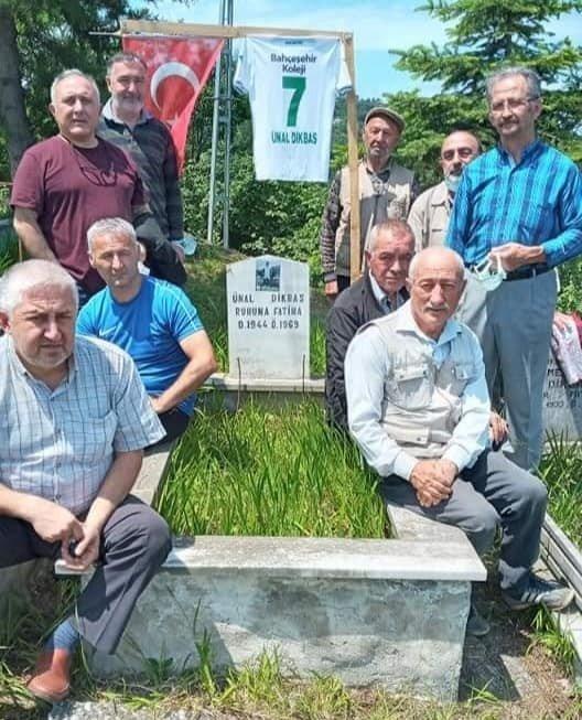 Giresunspor ilk Süper Lig'e yükseldiği yıl hayatını kaybetmişti, mezarı başında anıldı