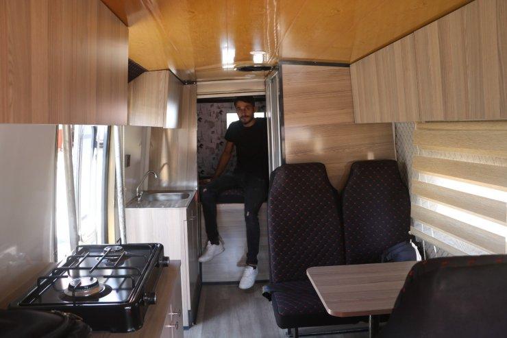 Korona talebi arttırınca karavan üretimine başladı