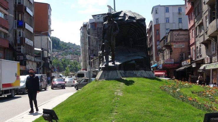 Zonguldak hafta sonuna sakin başladı