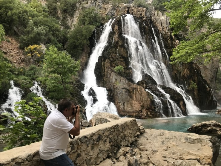 Antalya'nın gizli güzelliği 'Uçansu Şelalesi '