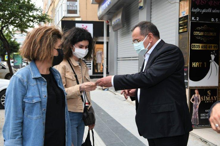 """Başkan Demir: """"Hedefimiz daha yeşil Samsun"""""""
