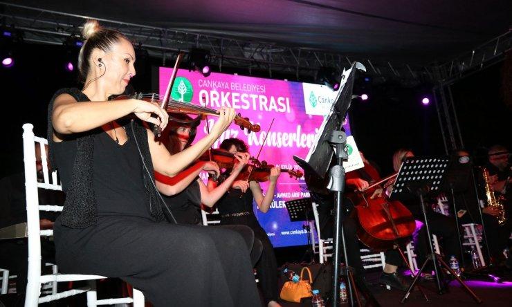 Çankaya'dan müzisyenlere destek