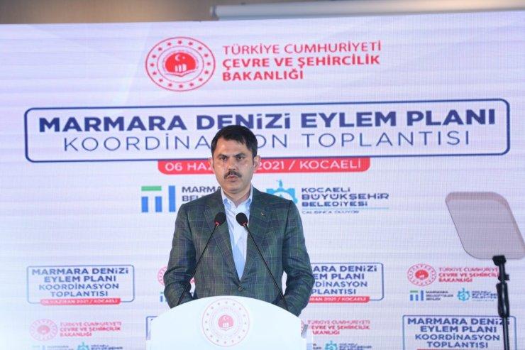 Marmara Denizi'ni deniz salyasından kurtaracak eylem planını açıklandı