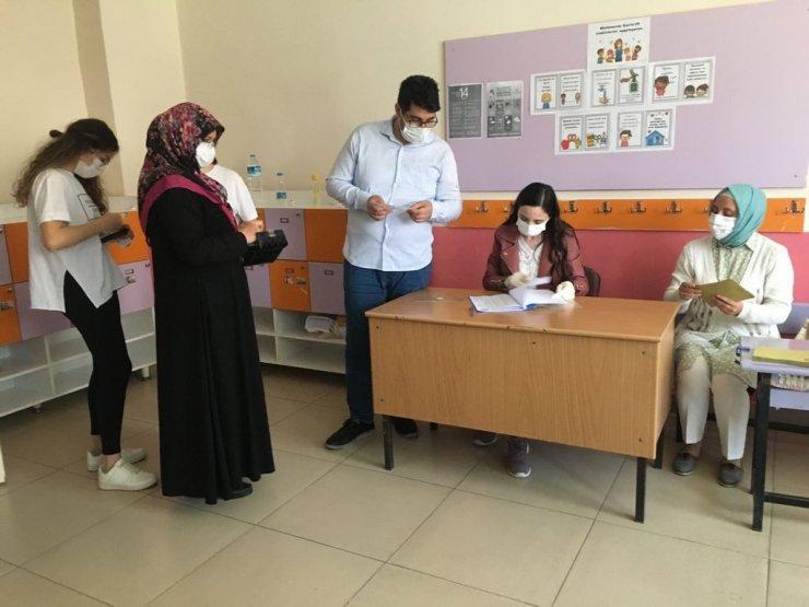 Eskişehir'de 5 mahallede seçim heyecanı yaşandı