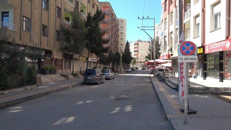 Mardin'de cadde ve sokaklarda sessizlik hakim