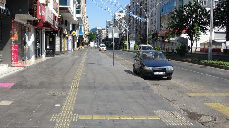 Diyarbakır'da ikinci kademenin ilk kısıtlaması devam ediyor