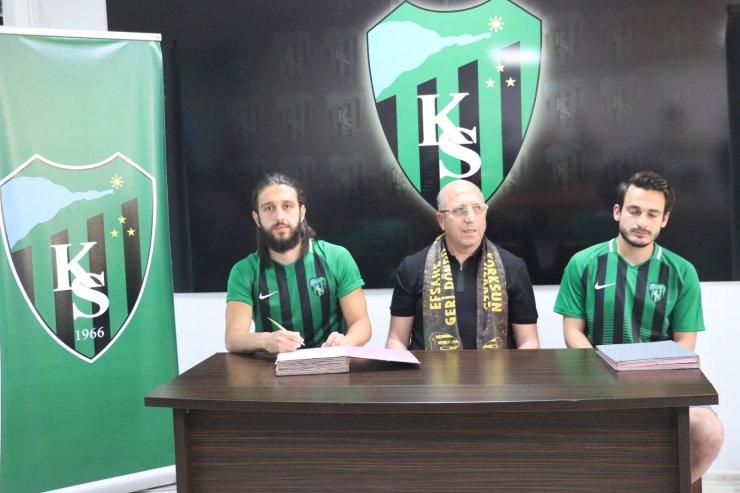 Kocaelispor 2 yeni transferine sözleşme imzaladı