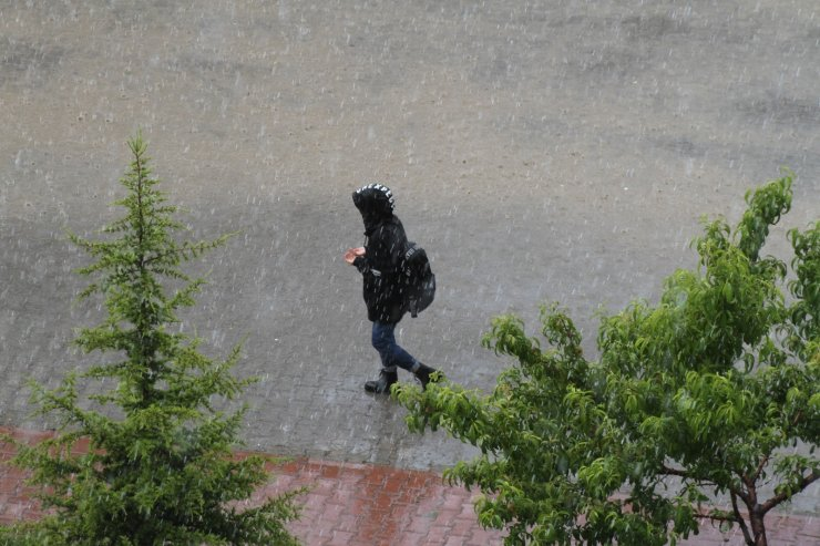 Beyşehir'de yağmurlu günler