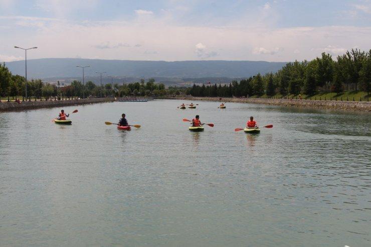 Erbaa Kano ve Doğa Sporları Kulübü yılın ilk etkinliğini gerçekleştirdi