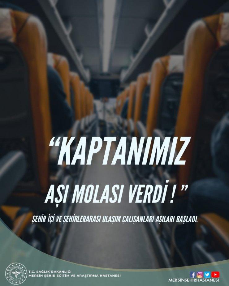Mersin Şehir Eğitim ve Araştırma Hastanesinden dikkat çeken aşı çağrısı