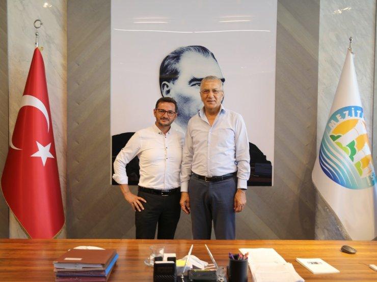 Başkan Tarhan, Rus basınına Mezitli'yi anlattı