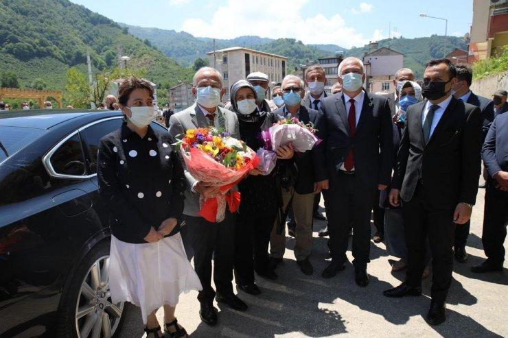 Başkan Güler'e ilçelerde sevgi seli