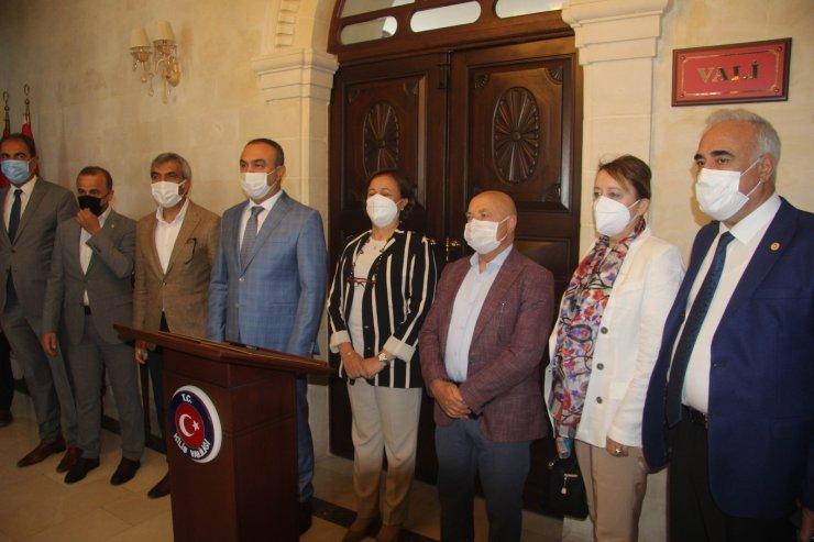 TBMM Dilekçe Komisyonu üyeleri Kilis'te